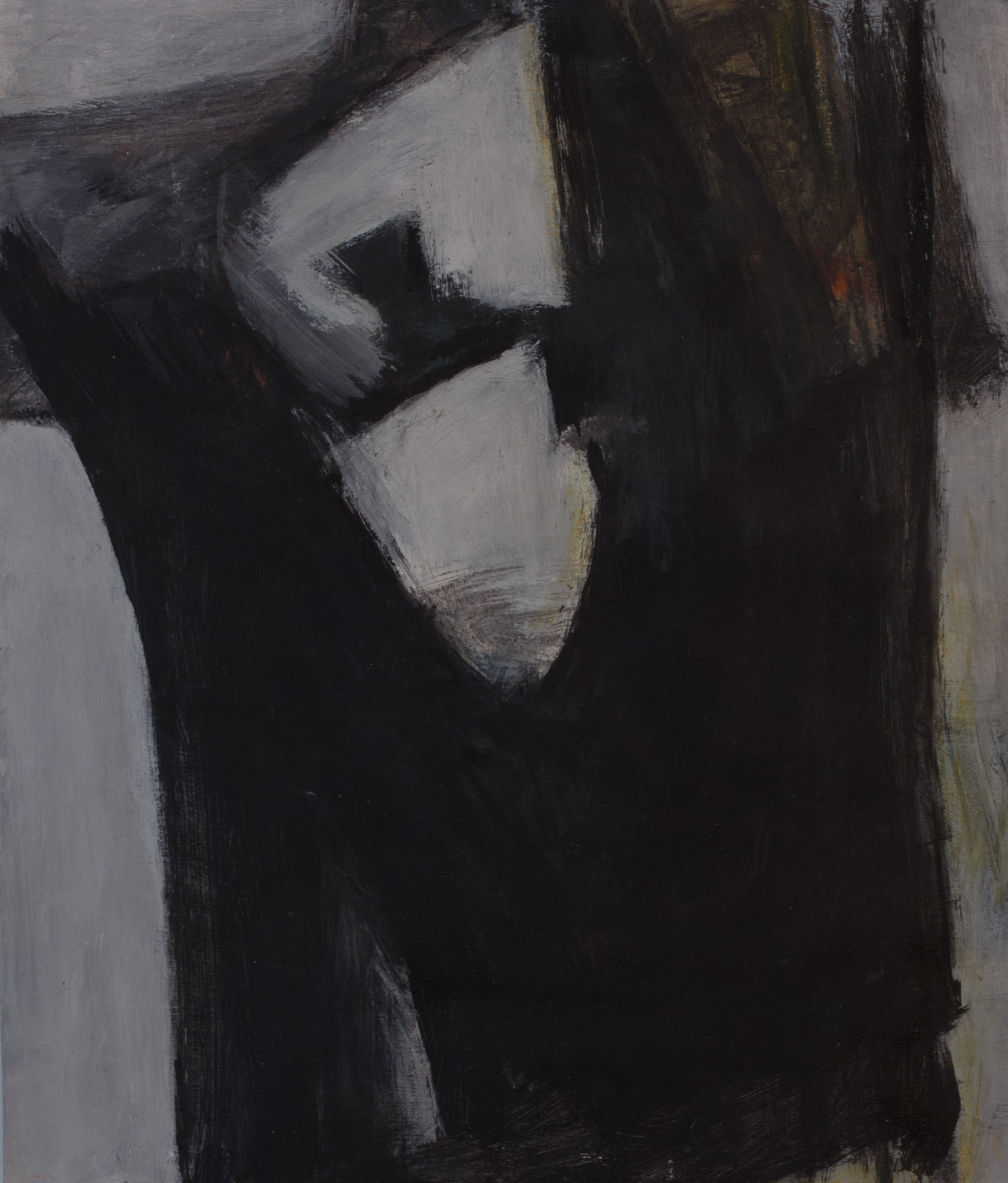 Painting: Enigma No. 6 (#11) by Eleanor Hilowitz (1913 - 2007)