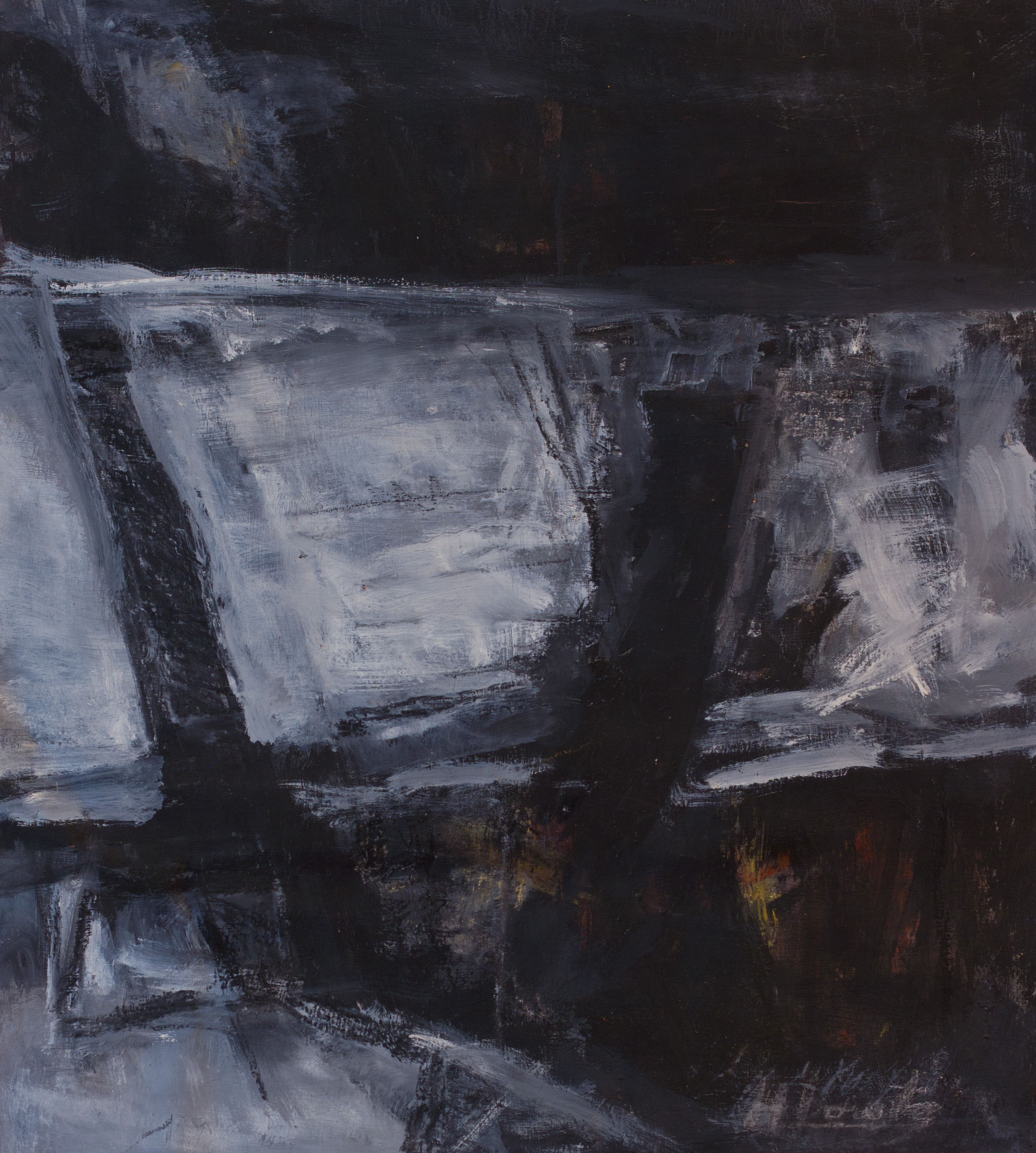 Painting: Night Passage / Enigma #3 (#23) by Eleanor Hilowitz (1913 - 2007)