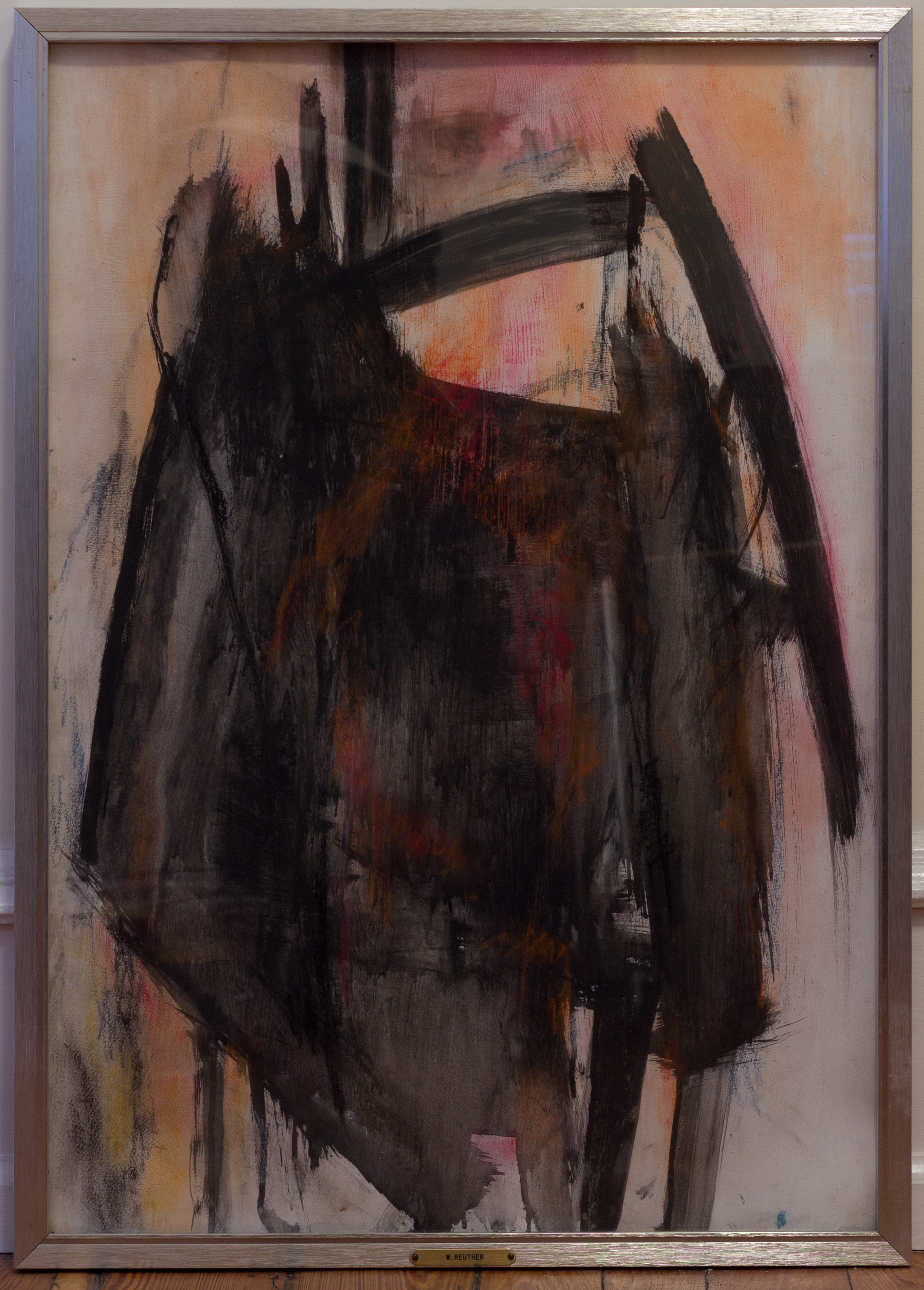 Painting: Untitled (#70) by Eleanor Hilowitz (1913 - 2007)