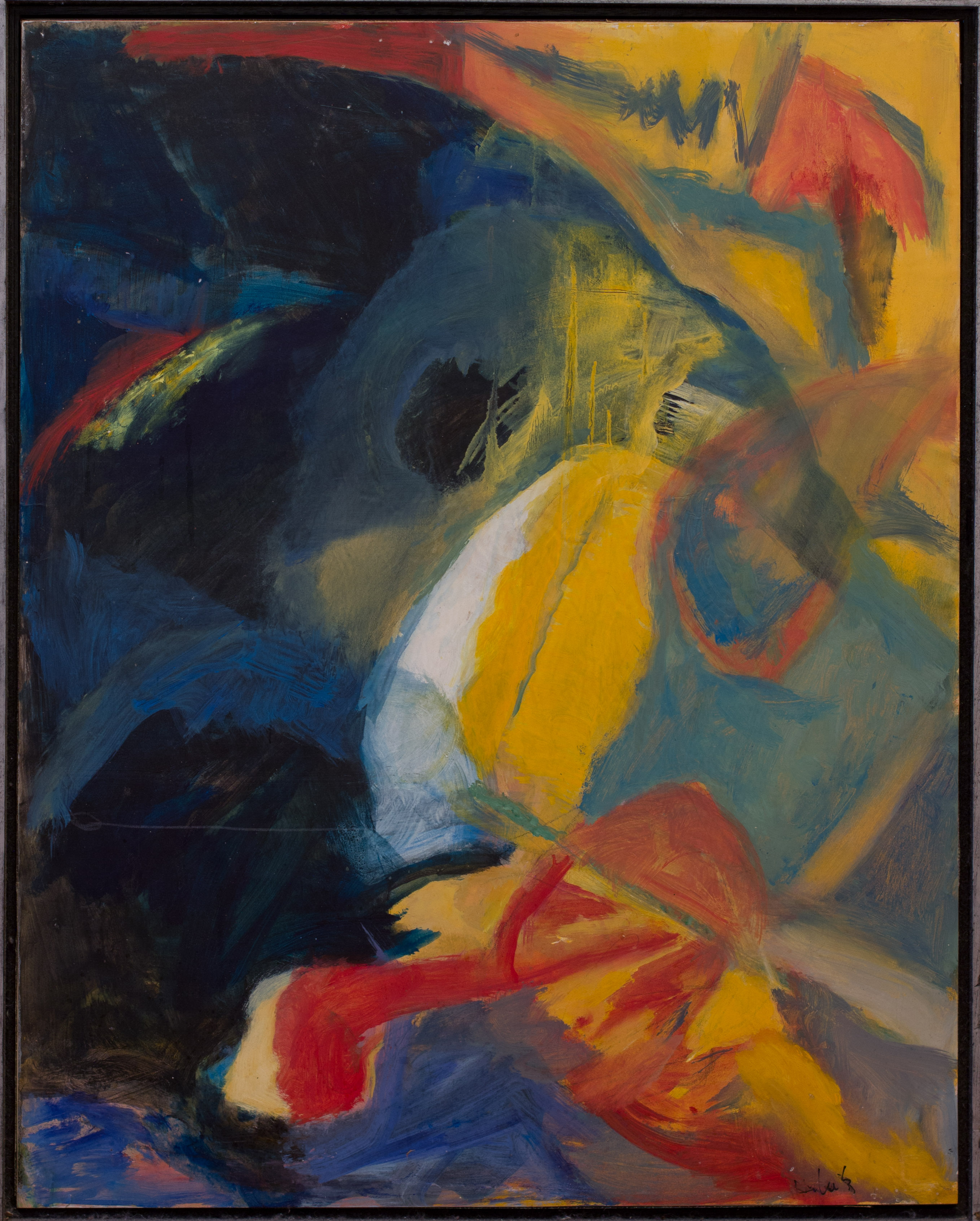 Painting: Untitled (#75) by Eleanor Hilowitz (1913 - 2007)